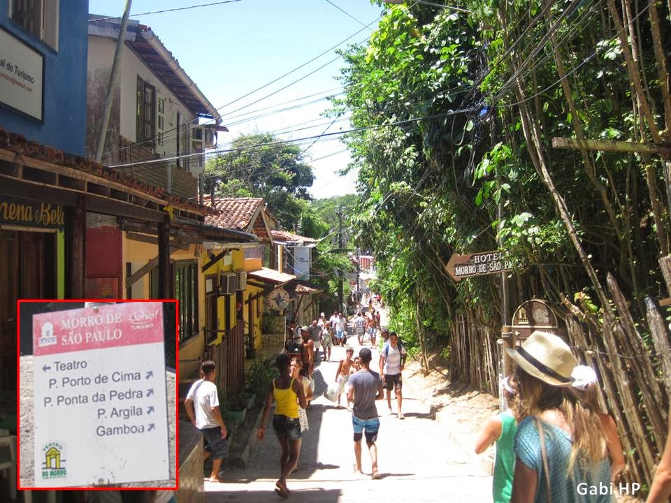 Devaneios de Biela no Morro de São Paulo Trilha Gamboa
