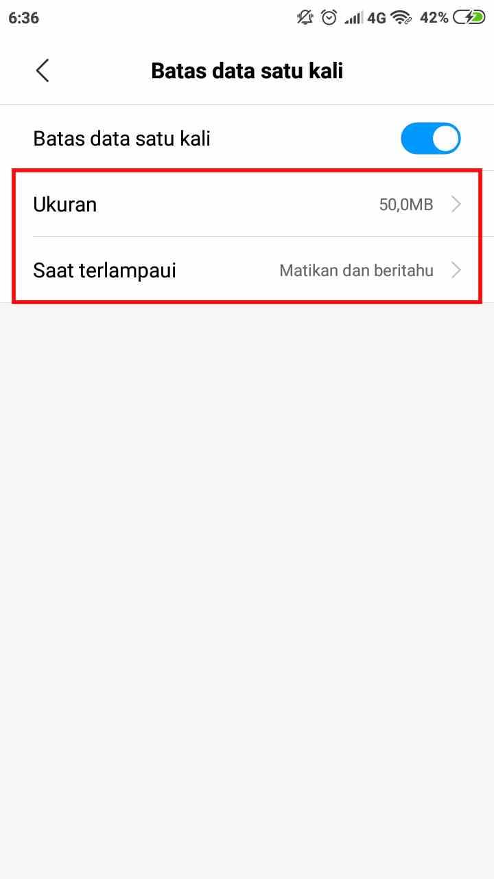 Agar tak boros kuota, cara membatasi penggunaan data hotspot pada ponsel Xiaomi 5