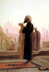 Oración en el Cairo, por J. L. Gérome