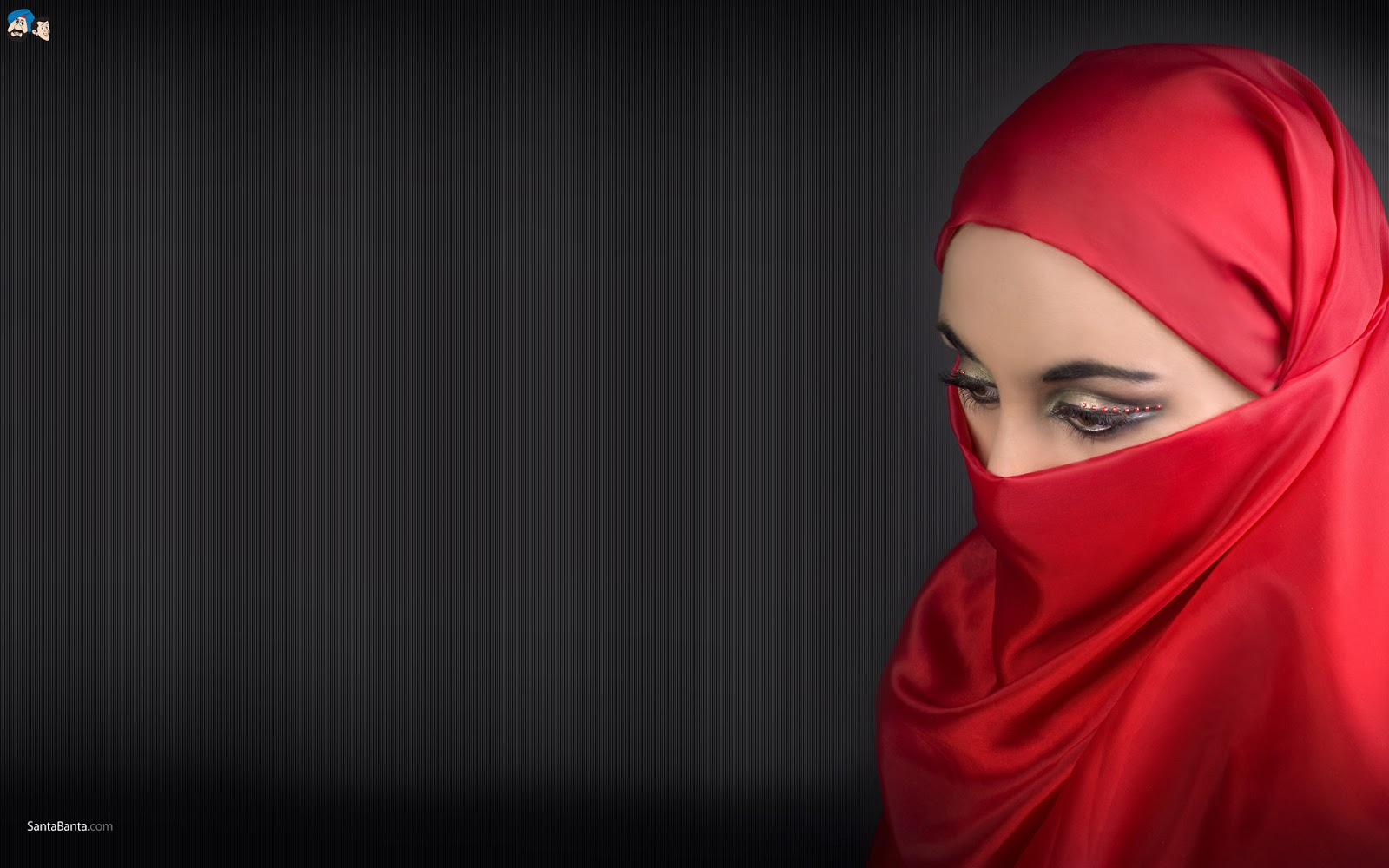 Koleksi Wallpaper Wanita Muslimah Bercadar Fauzi Blog