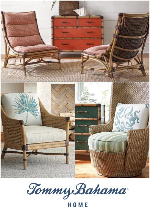 Tropical Island Accent Chairs Tommy Bahama Coastal Home Furnishings