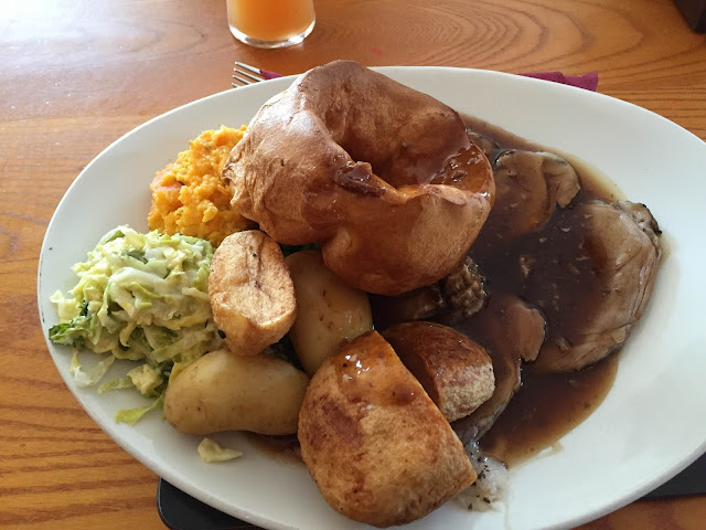 The New Inn Dyserth lamb roast meal