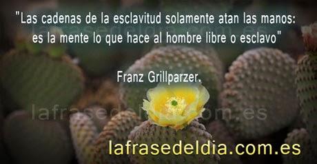 Citas motivadoras de Franz Grillparzer