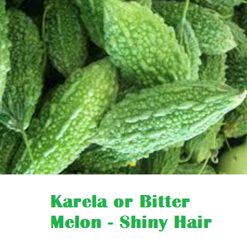 Health Benefits Of Karela or Bitter Melon - Shiny Hair
