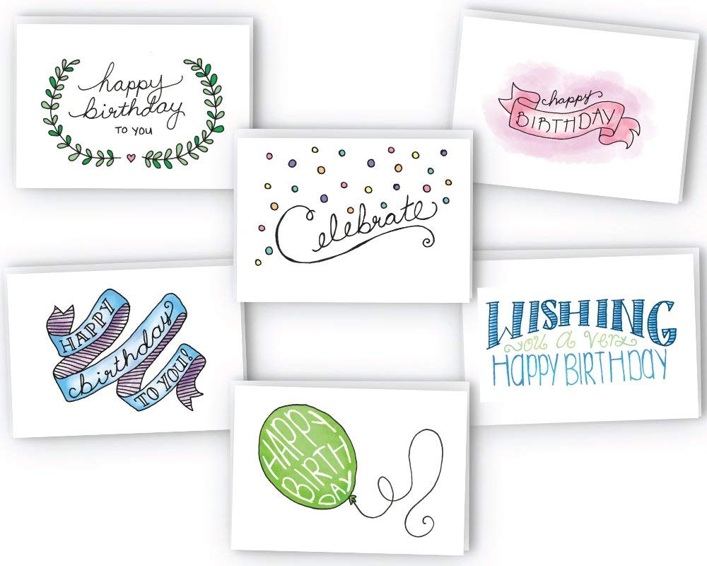 Amazon 388 Reg 1295 Happy Birthday Cards With Envelops 24 Pack