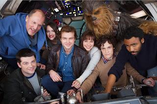 El reparto de Han Solo una historia de Star Wars