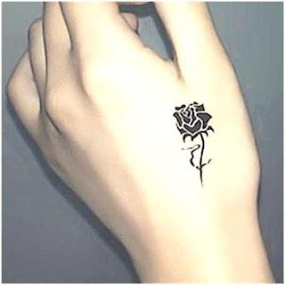 ลายสักดอกกุหลาบ
