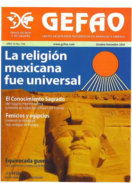 La Religion Mexicana Fue Universal