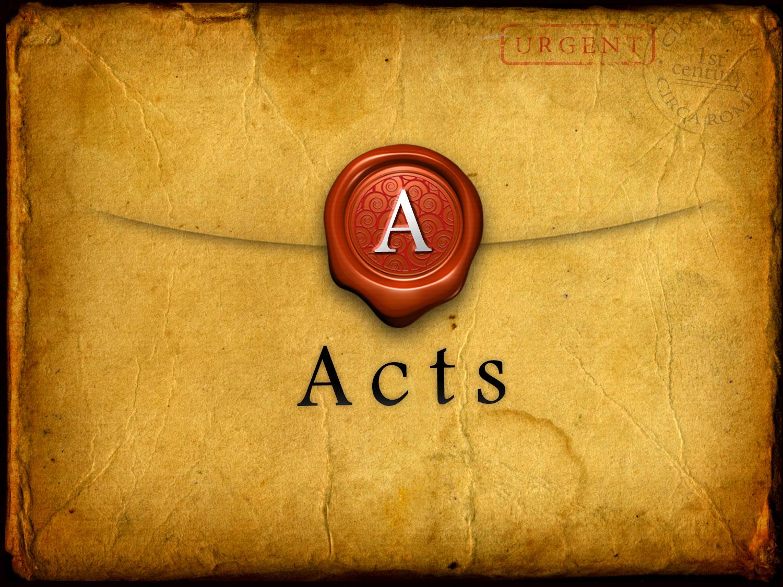 Craig Finnestad Acts Bible Reading Plan