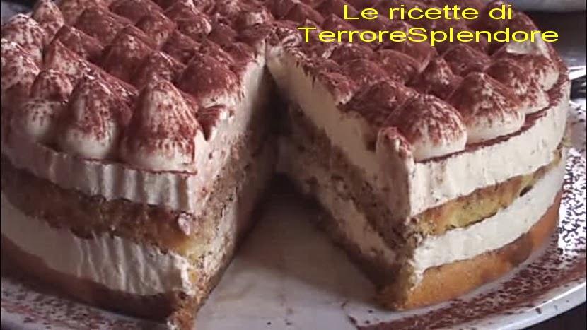 Ricetta torta compleanno tiramisu