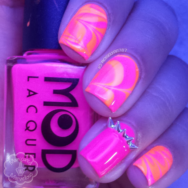 Mod Lacquer Energize & Stimulate Watermarble