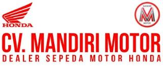 LOKER Sales Counter CV. MANDIRI MOTOR PADANG JANUARI 2019