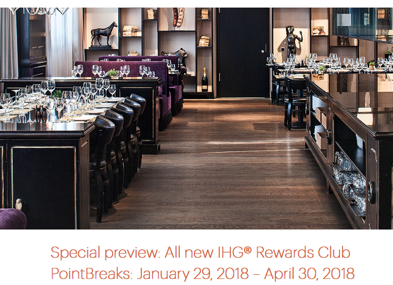 Rewards Canada: Preview of 30 upcoming IHG Rewards Club