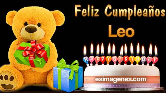Feliz Cumpleaños Leo
