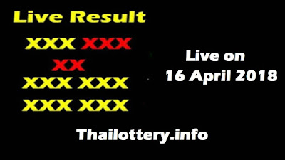 Thailand Lottery Result 16 April 2018 Live Online