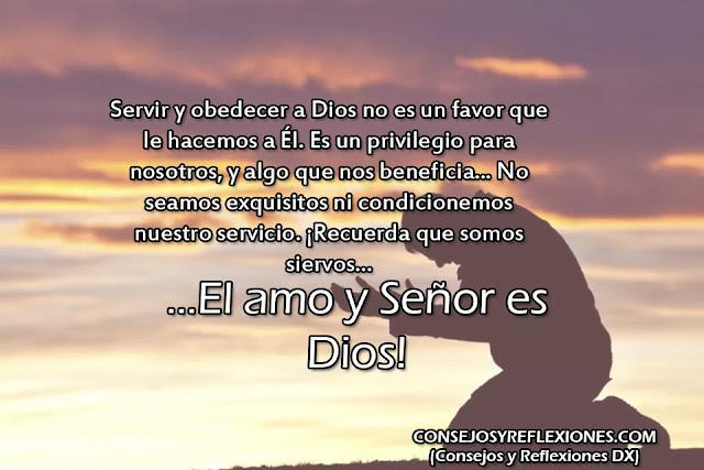 Reflexiones sobre el servicio a Dios