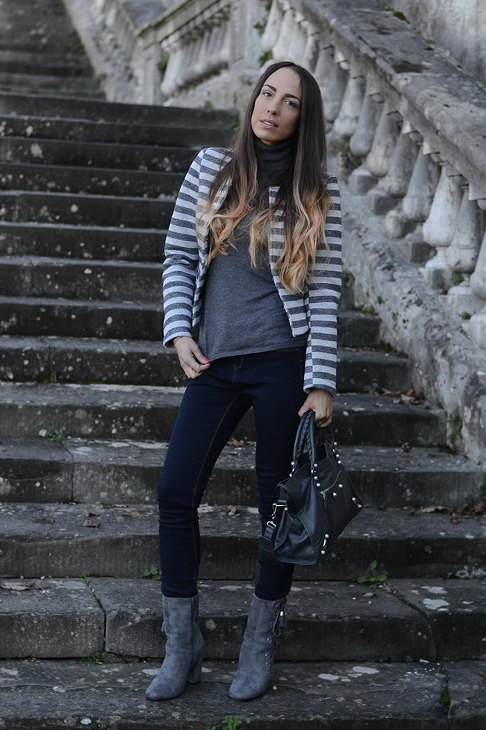idea outfit grigio