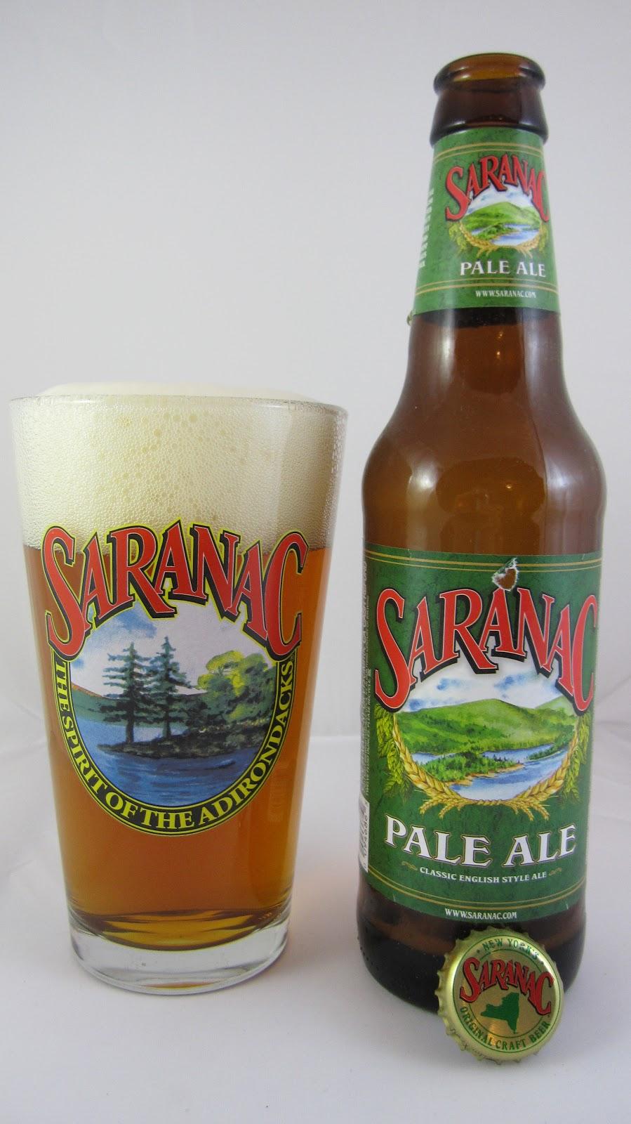 Chad'z Beer Reviews: Saranac Pale Ale (2012)