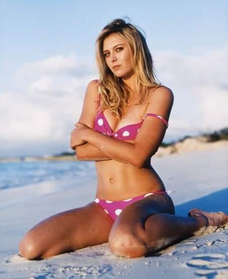 Maria sharapova bikini photos