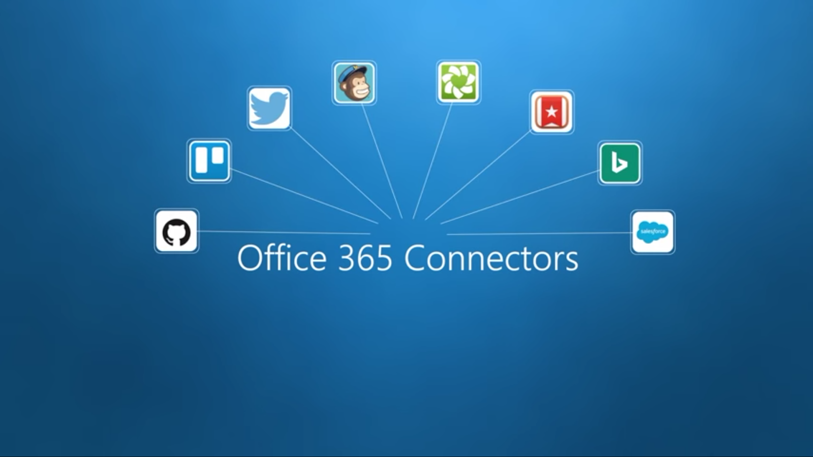 Exchange Anywhere Office 365 Connectors