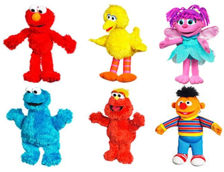 Sesame Street Mini Plush 6 99 Each