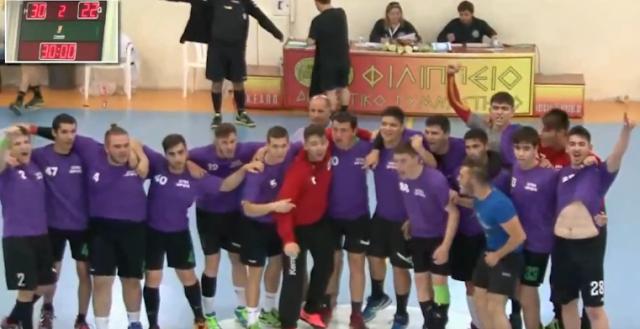 Πρόκριση στον τελικό του Πανελλήνιου σχολικού πρωταθλήματος handball για το 2ο ΓΕΛ Άργους (βίντεο)