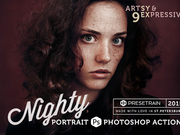 Download Nighty Lite Photoshop Action Free