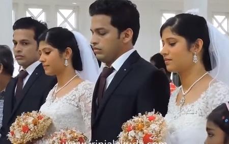 Amazing All Twins Indian Kerala Christian Wedding Tubetamilcom