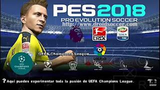 PES 2018 BETA by Tutoriales Bendezu PSP Android