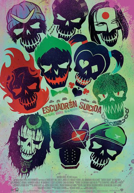 Cartel: Escuadrón suicida (2016)