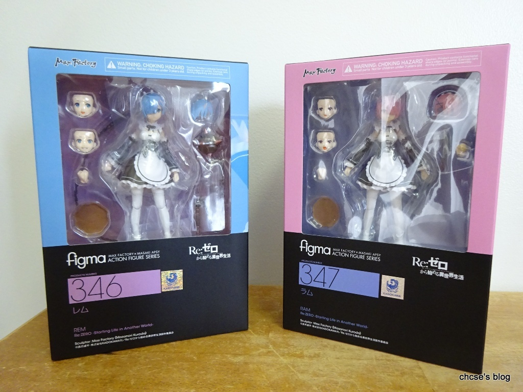 REM figure RE:ZERO FIGMA starting life in another world MAX FACTORY ram # 346