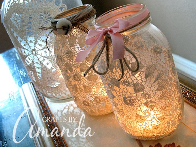 Favoloso Come fare una lanterna portacandele riciclando un barattolo di  RG43