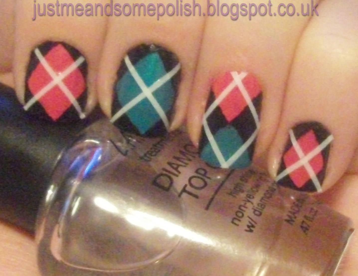 Just Me And Some Polish Requested Nail Art Pics Argyle