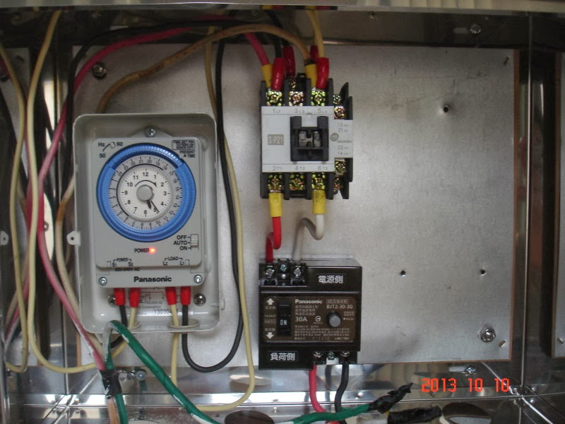 Jeison's學習日誌: 電熱水器加裝定時開關與電磁開關實作紀錄