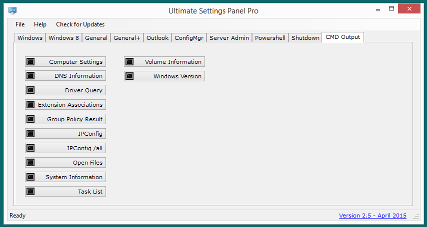 Ultimate Settings Panel Pro version 2.5 Released 12