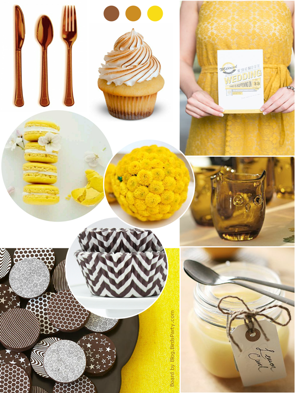 Lemon and Biscuit Party Ideas & Inspiration - via BirdsParty.com