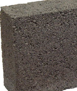 Lightweight aggregates concrete block is made with furnace bottom ash