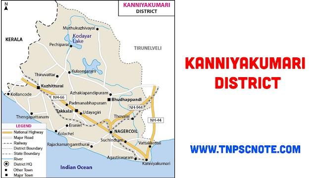 Kanyakumari District Information, Boundaries and History from Shankar IAS Academy