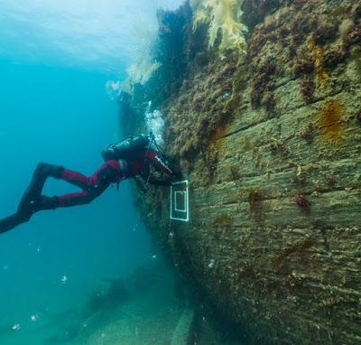 The wreck of the Erebus
