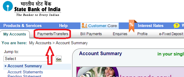 Online bank account in state of india