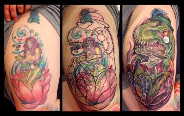 Tatuagens que receberam coberturas inacreditáveis (Fotos: Reprodução/Internet)