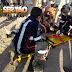 Colisão envolvendo motos deixa duas pessoas feridas