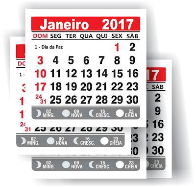 calendario de destacar