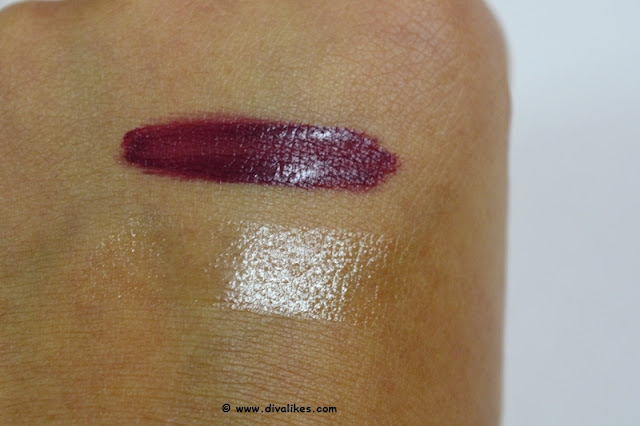 Maybelline New York Superstay 24 Color 2 Step Lipstick 065 Constantly Cabernet Swatch