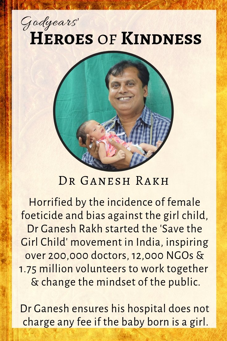 Dr Ganesh Rakh ensures the hospital does not charge any money if the baby born is a girl