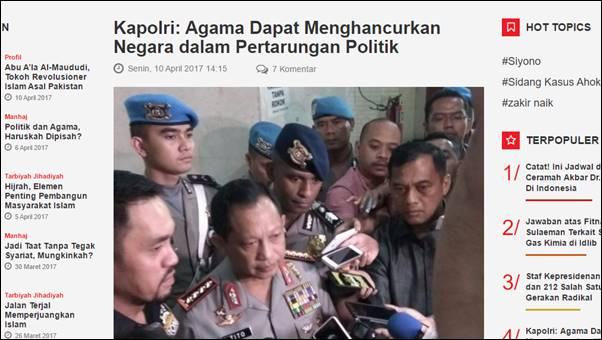 Sebut Agama Dapat Menghancurkan Negara, Pemikir Islam: Pernyataan Tito Melawan Pancasila