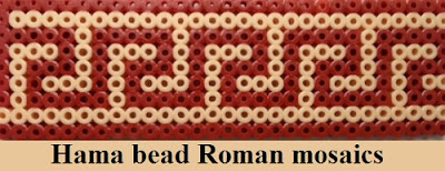 How to make Hama bead Roman mosaics