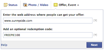 How To Add Barcode and Redemption Code For Facebook Offers?