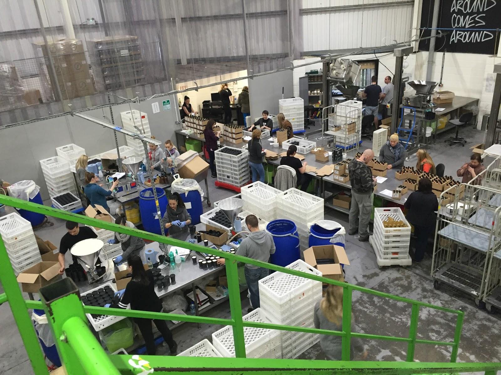 Lush Factory Poole Tour