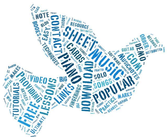 LadyDpiano: Word Cloud